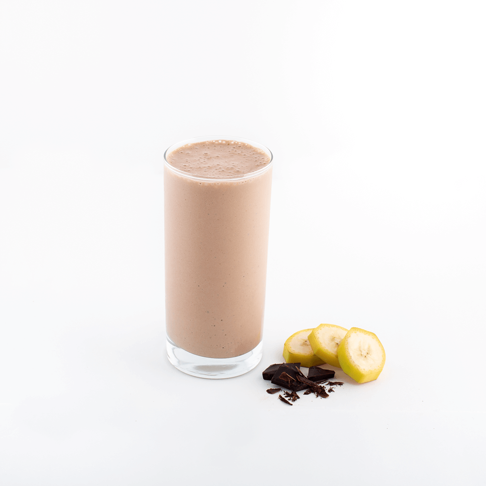 banana chocolate smoothie