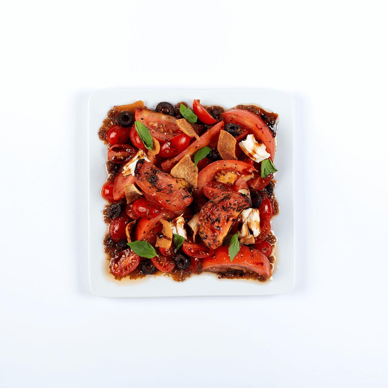 tomato panzanella takeout