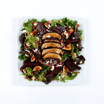 figs and beets salad