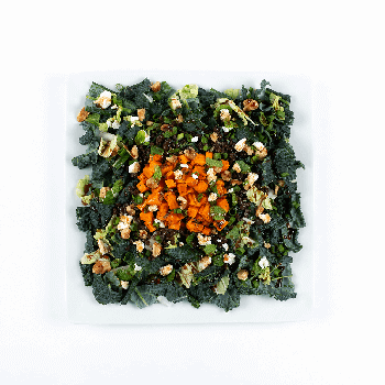 sweet potato kale salad